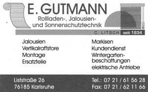 E. Gutmann, Inh. C. Litsch, Karlsruhe